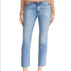 Rag & Bone Farrah ankle cigarette jeans